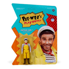 Pee-wee's Playhouse ReAction Captain Carl Figure