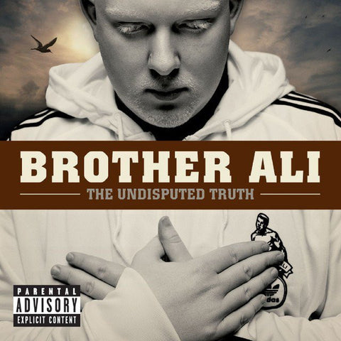 Brother Ali - The Undisputed Truth 2LP (White Vinyl)