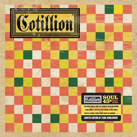 Cotillion Records Soul 45s Box Set