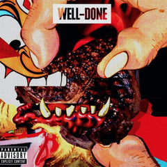 Action Bronson & Statik Selektah - Well Done 2LP (Limited Edition Orange/White Swirl)