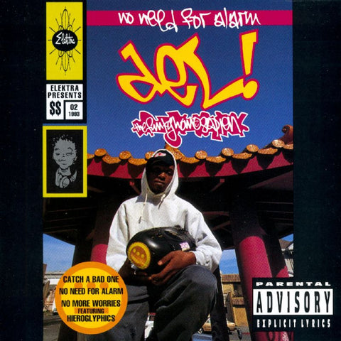 Del The Funky Homosapien - No Need For Alarm 2LP