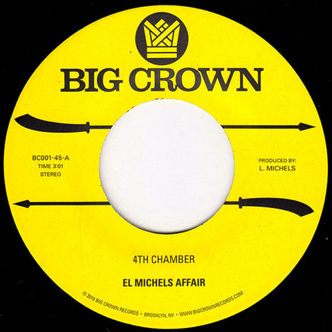 El Michels Affair - 4th Chamber / Snakes 7-Inch