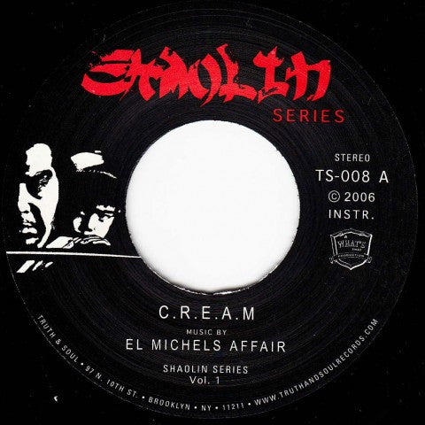 El MIchels Affair - C.R.E.A.M. / Glaciers of Ice 7-Inch