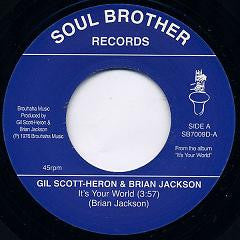 Gil Scott-Heron - It's Your World 7-Inch