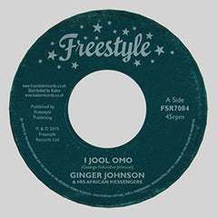 Ginger Johnson - I Jool Omo 7-Inch