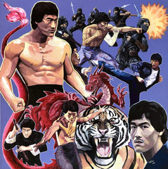 Lord Beatjitzu - Shanghai Express AKA Bruce Li's Greatest Punches (LP)