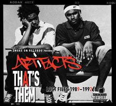 Artifacts - That's Them Lost Files LP