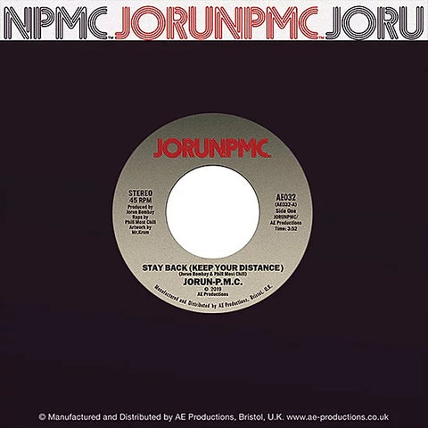 JorunPMC - Stay Back / Sammy Davis 7-Inch