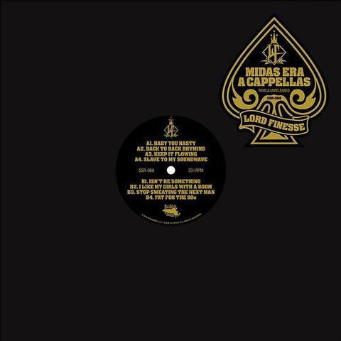 Lord Finesse - Midas Era Acappellas LP (180g)