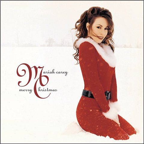 Mariah Carey - Merry Christmas LP (Deluxe Red Vinyl)