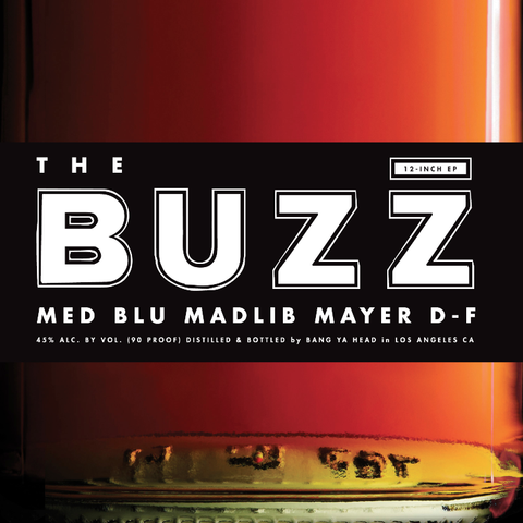 Med / Blu / Madlib - The Buzz EP feat Mayer Hawthorne & Dam Funk