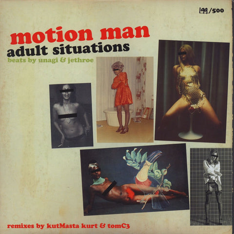 Motion Man - Adult Situations LP