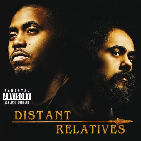 Nas & Damian Marley - Distant Relatives 2LP
