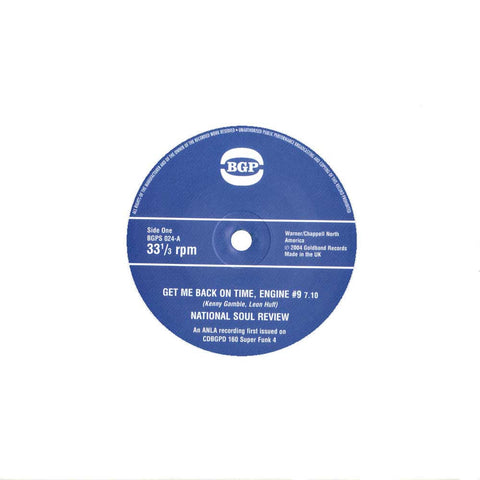 National Soul Review - Get Me Back On Time Engine #9 / Tammi Lynn - Light My Fire 7-Inch