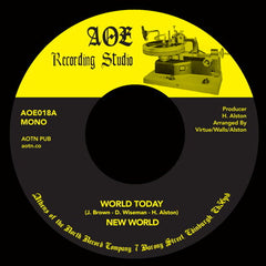 New World - World Today 7-Inch