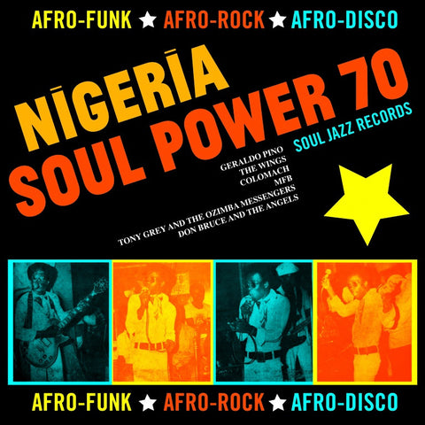 Soul Jazz Records - Nigeria Soul Power 70 5x7-Inch Box