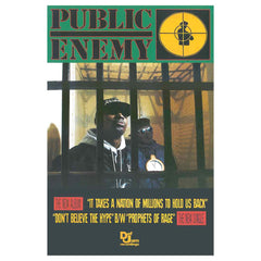 Public Enemy It Takes A Nation Poster