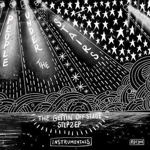 People Under The Stairs - The Gettin' Off Stage, Step 2 Instrumentals (LP - Silver & Black Splatter Vinyl)