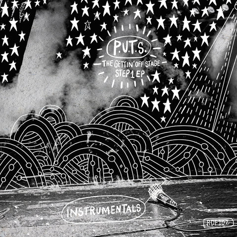 People Under The Stairs - The Gettin' Off Stage, Step 1 Instrumentals (LP - Silver & Black Blend Vinyl)