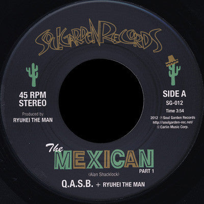 Q.A.S.B. - The Mexican pts 1&2 7-Inch