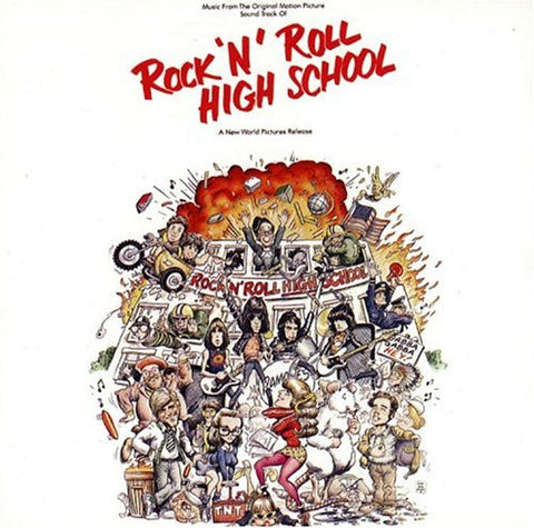 Ramones - Rock N Roll High School Soundtrack LP