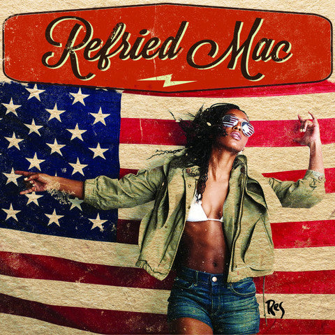Res - Refried Mac (EP - Clear/Stars & Stripes Screenprinted Vinyl)