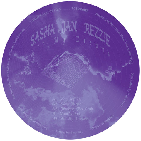 Sasha Jan Rezie - All My Dreams 12-Inch EP