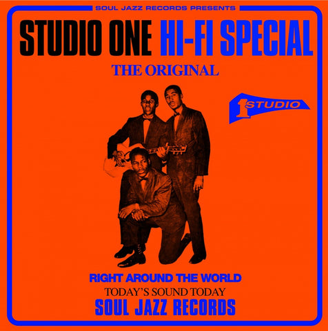 Soul Jazz Records - Studio One Hi-Fi  5x7-Inch Box