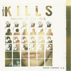 The Kills - Black Rooster EP 10-Inch (Red Vinyl)