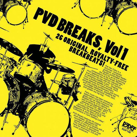 Pat Van Dyke - PVD Breaks Vol 1 LP