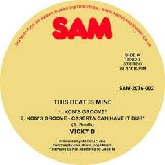 Vicky D - This Beat Is Mine (Kon Remix) 12-Inch