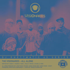 Visionaries / Crown Royale - All Along / Stratasphere 7-Inch