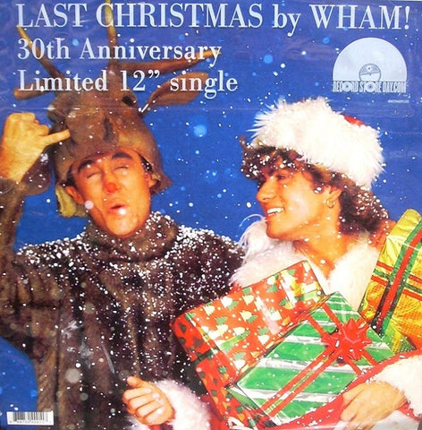 Wham! - Last Christmas 12-Inch Split Color Edition