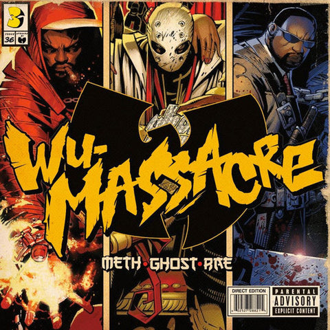Meth, Ghost, and Rae - Wu Massacre 2LP