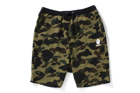 BAPE 1st Camo Sweat Shorts (multiple colors)