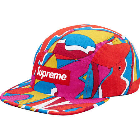 Supreme Abstract Camp Cap