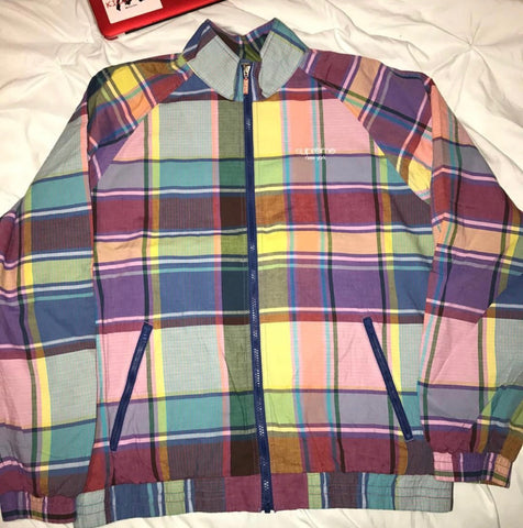 Supreme Madras Track Jacket