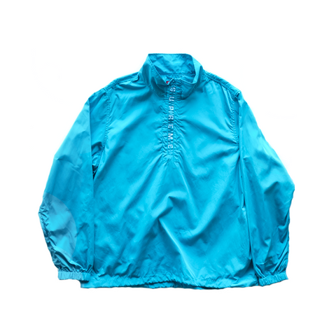 Supreme Zip Logo Pullover Windbreaker - Light Blue