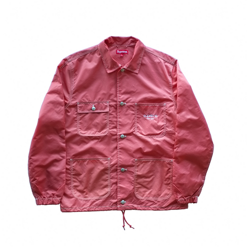 Supreme Nylon Chore Coat - Peach