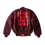 TLOP x Alpha Industries MA-1 Flight Jacket - Burgundy