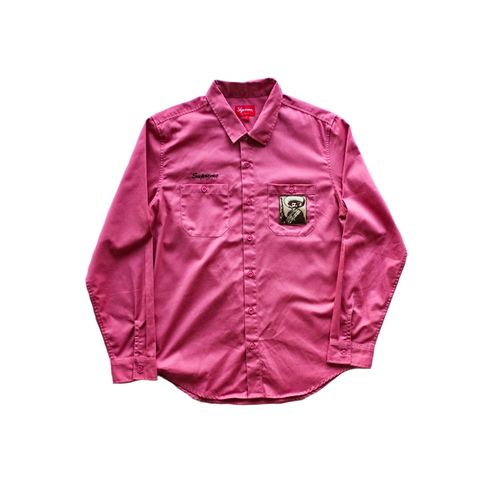 Supreme Zapata Work Shirt - Rose