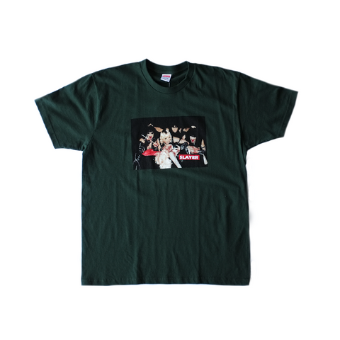 Supreme x Slayer Tee - Hunter Green