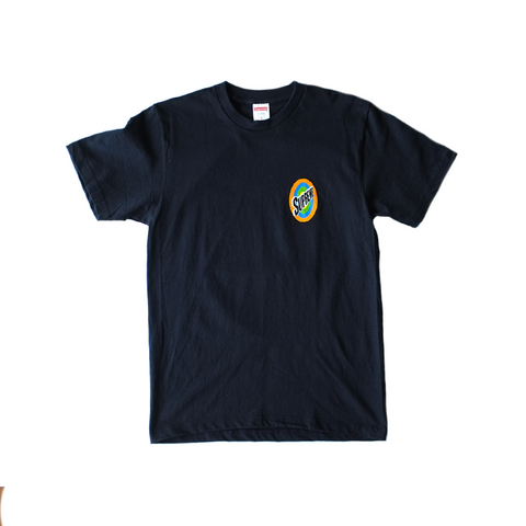 Supreme Logo Tee - Navy Blue