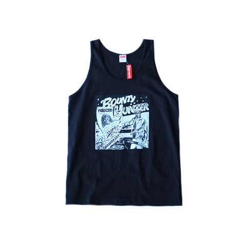 Supreme x Barrington Levy Bounty Hunter Tank - Black