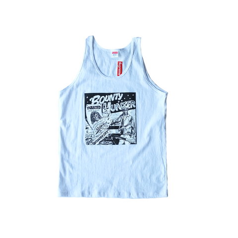 Supreme x Barrington Levy Bounty Hunter Tank - White