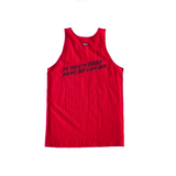 Supreme x Barrington Levy Bounty Hunter Tank - Red