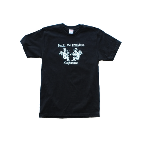 Supreme F The PresidentT-Shirt - Black