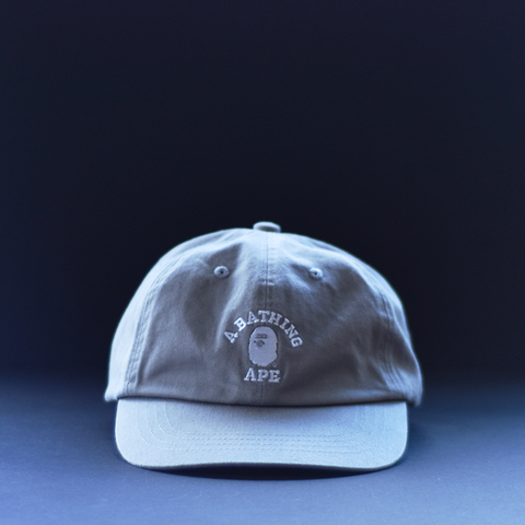 BAPE College Cap - Grey