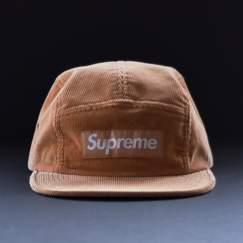 Supreme Corduroy Camp Cap - Peach