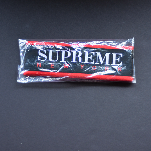 Supreme Fleece Headband - Red